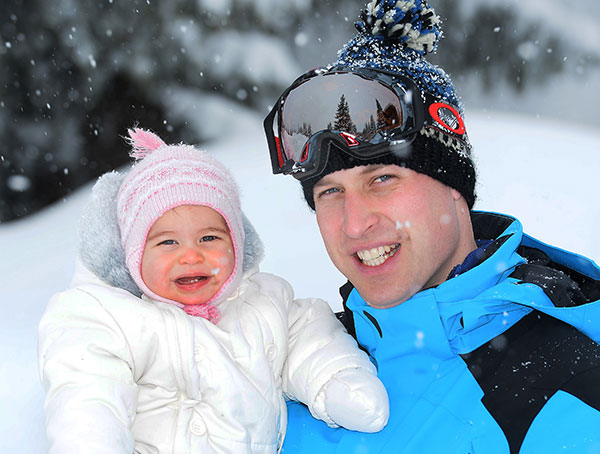 "<div class=""meta image-caption""><div class=""origin-logo origin-image none""><span>none</span></div><span class=""caption-text"">Britain's Prince William poses with daughter Princess Charlotte while skiing in the French Alps on March 3, 2016. (John Stillwell/Pool via AP)</span></div>"