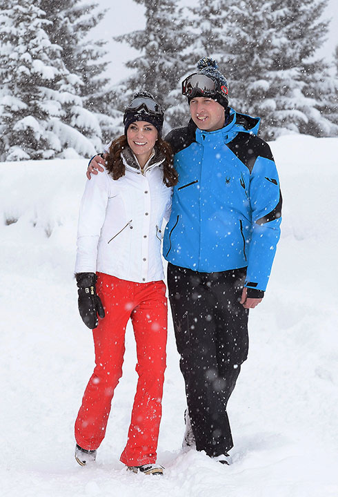 <div class='meta'><div class='origin-logo' data-origin='none'></div><span class='caption-text' data-credit='John Stillwell/Pool via AP'>Prince William and Kate Duchess of Cambridge walk together while on vacation in the French Alps on March 3, 2016.</span></div>