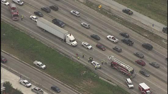 Naked Woman Shuts Down Highway 290  Abc7Chicagocom-7336