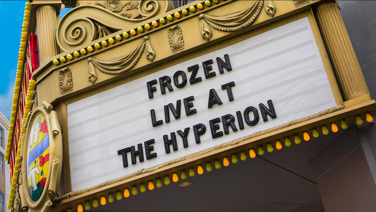 An all-new 'Frozen' theatrical production will open at the Hyperion Theater at Disney California Adventure on May 27.