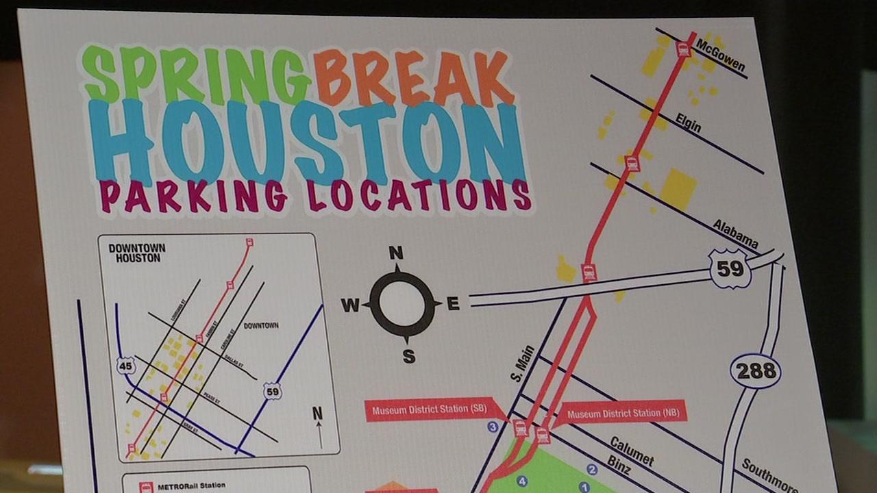 Houston Spring Break