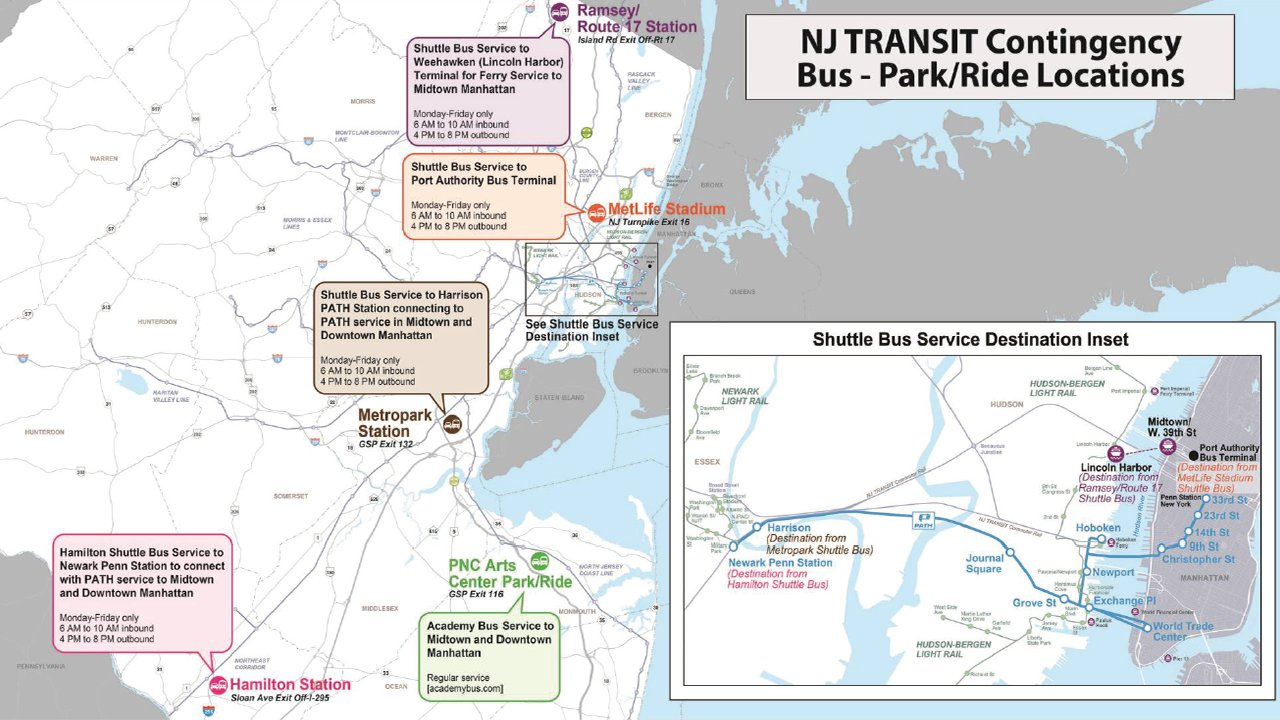 New Jersey Transit What You Need To Know If There S A Strike