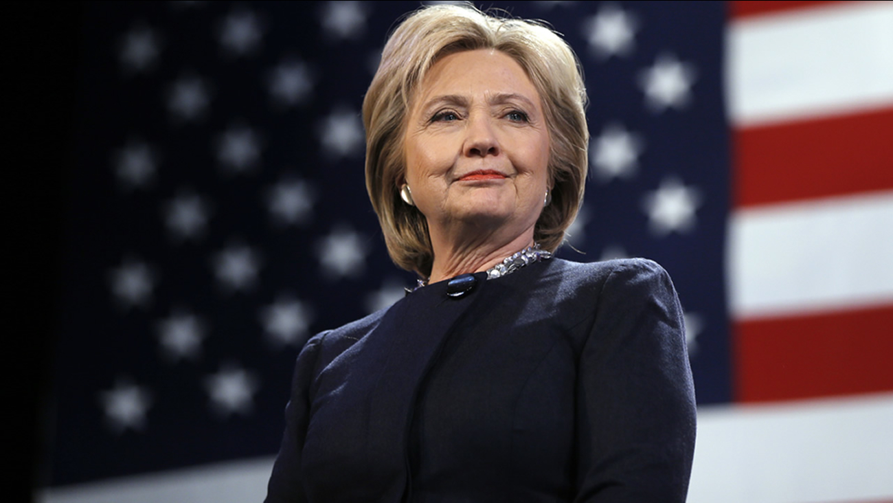 FILE: Democratic presidential candidate Hillary Clinton.