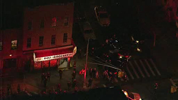 """<div class=""""meta image-caption""""><div class=""""origin-logo origin-image wabc""""><span>WABC</span></div><span class=""""caption-text"""">An NYPD officer was shot in the shoulder in Bushwick, Brooklyn, on Tuesday evening, March 8, 2016.</span></div>"""