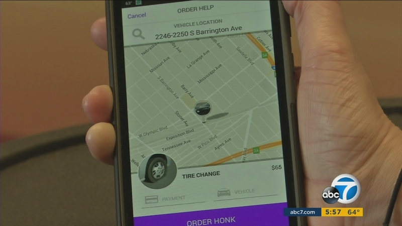 New app Honk offers easy roadside assistance