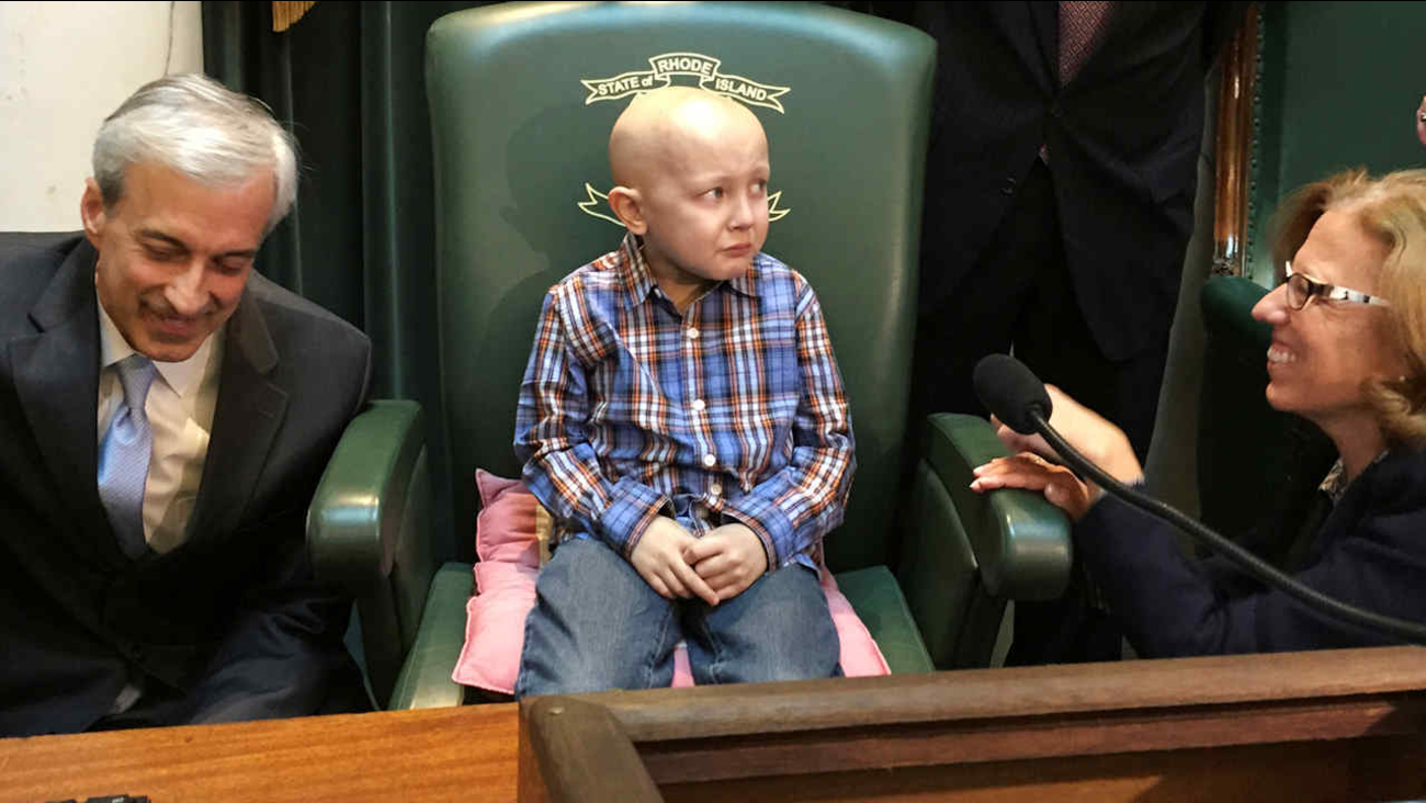 8-year-old Rhode Island boy with cancer who wished to be ...