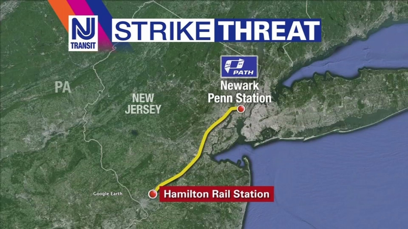 NJ Transit contingency plans