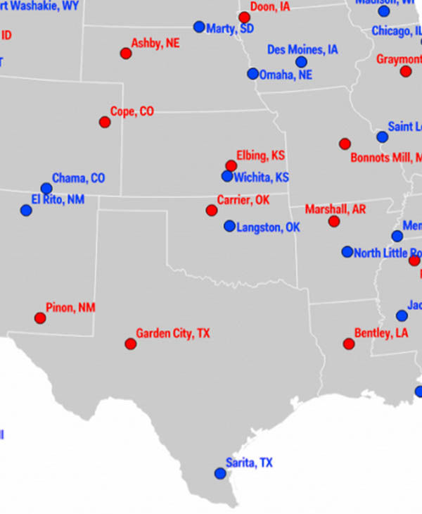 Most Conservative and Liberal Cities in the US abc13com