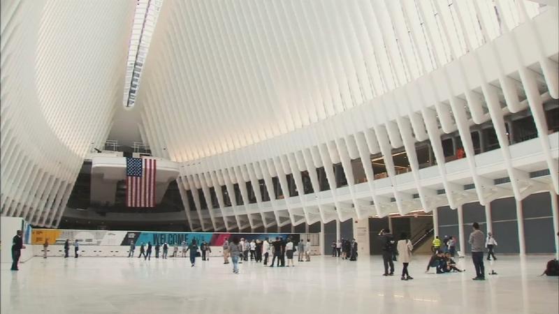 Inside WTC Oculus