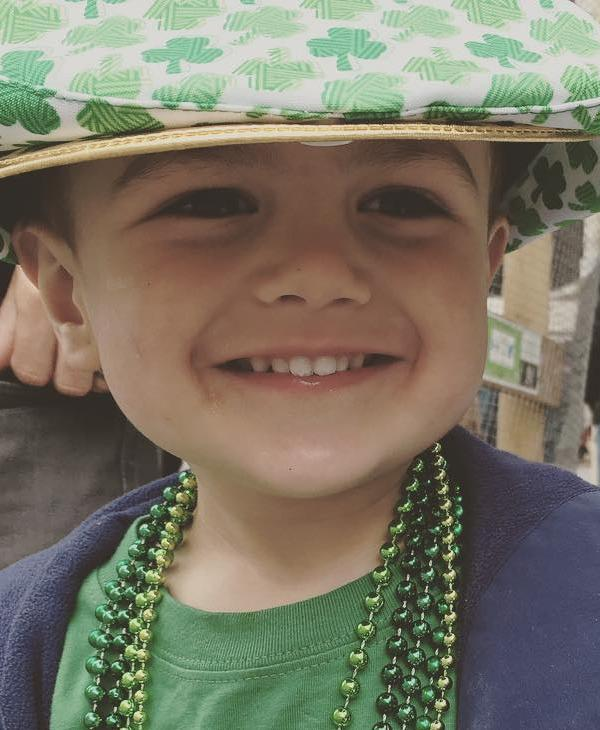 "<div class=""meta image-caption""><div class=""origin-logo origin-image none""><span>none</span></div><span class=""caption-text"">A boy smiles during the San Francisco St. Patrick's Day Parade on Saturday, March 12, 2016. (Photo submitted to KGO-TV by @melhink/instagram)</span></div>"