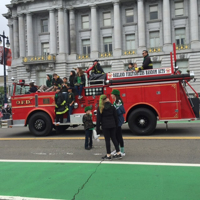 "<div class=""meta image-caption""><div class=""origin-logo origin-image none""><span>none</span></div><span class=""caption-text"">A team from the Oakland Fire Department takes part in the St. Patrick's Day Parade in San Francisco on Saturday, March 12, 2016. (KGO-TV/Joann Hartmann)</span></div>"