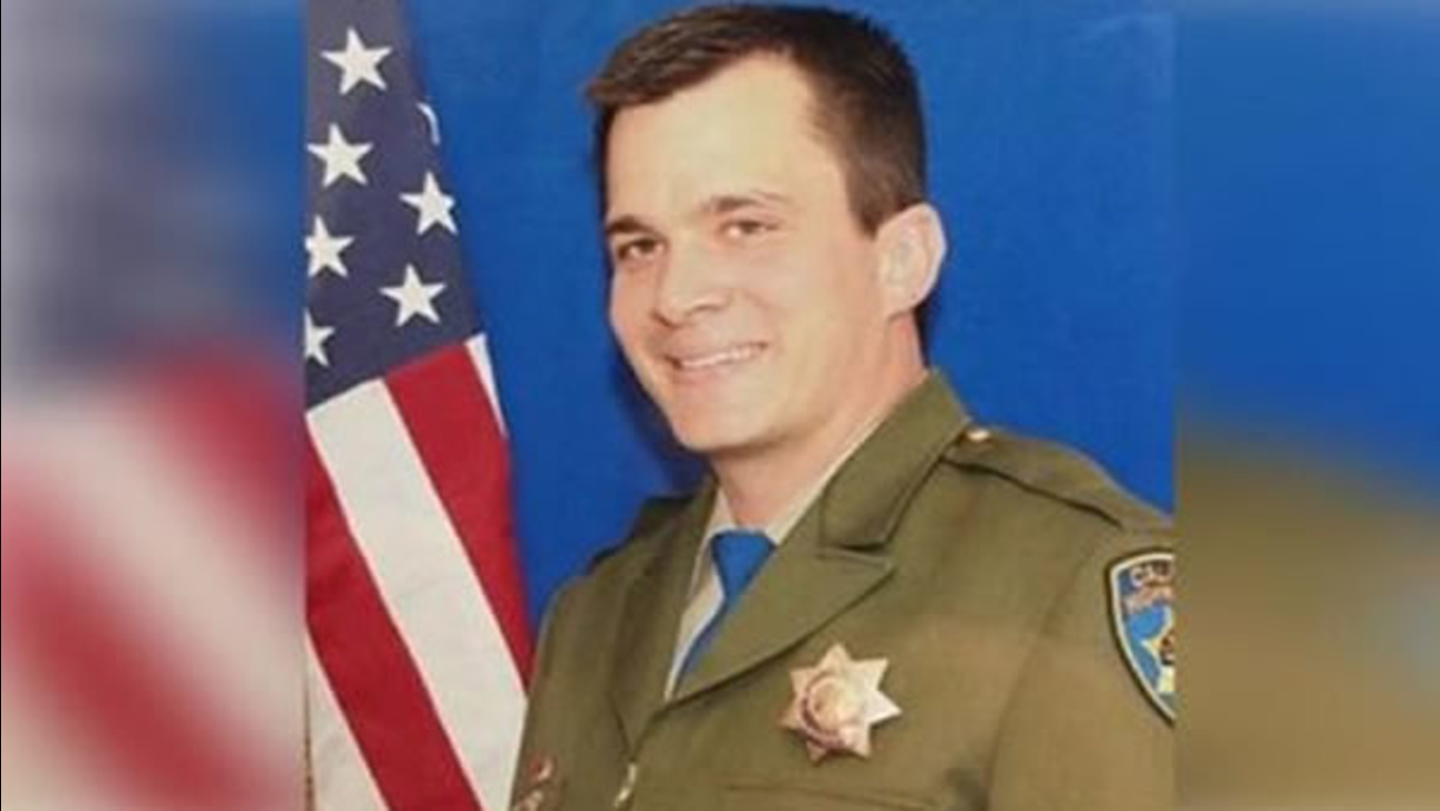 CHP Officer Nathan Daniel Taylor from Gun Run Area died after being struck by a car on Saturday, March 12, 2016.