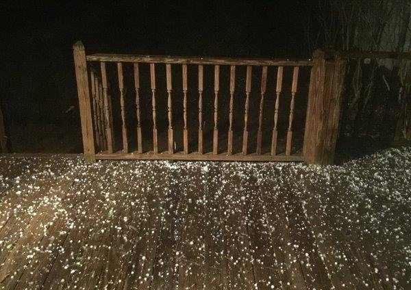 """<div class=""""meta image-caption""""><div class=""""origin-logo origin-image wtvd""""><span>WTVD</span></div><span class=""""caption-text"""">Nickle to quarter-sized hail in Wake Forest at 9:25 p.m. (ABC11 Eyewitness)</span></div>"""