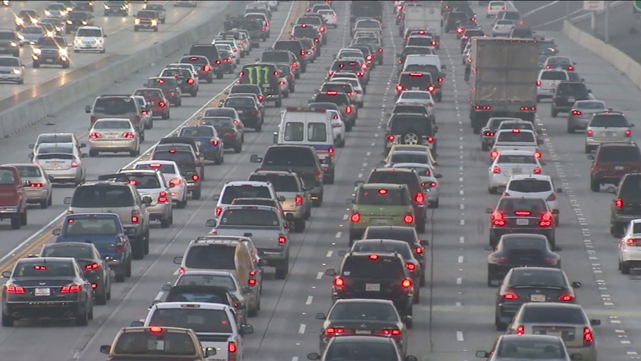 Drivers in the Los Angeles-Long Beach-Santa Ana area spent 81 hours in traffic last year, according to a new study from the data company Inrix.
