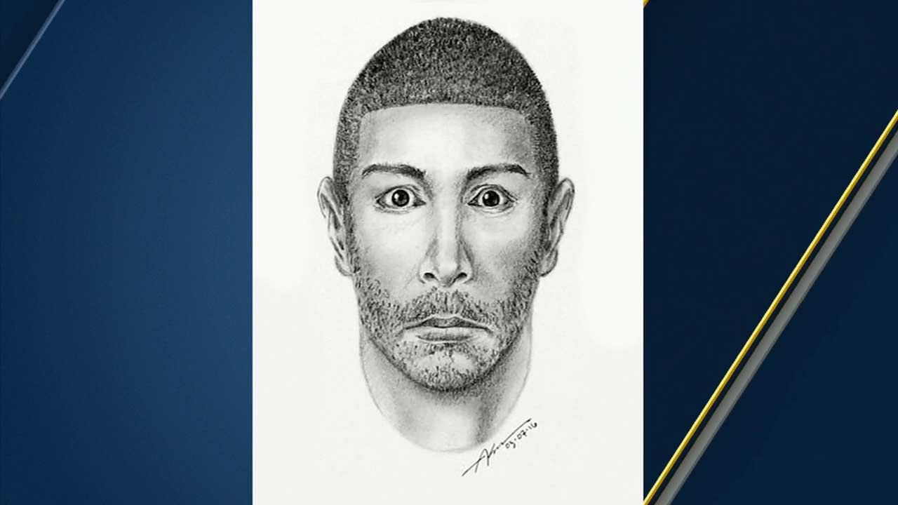 The LAPD released a sketch of a suspect in several attempted sexual assaults in South Los Angeles Wetlands Park.