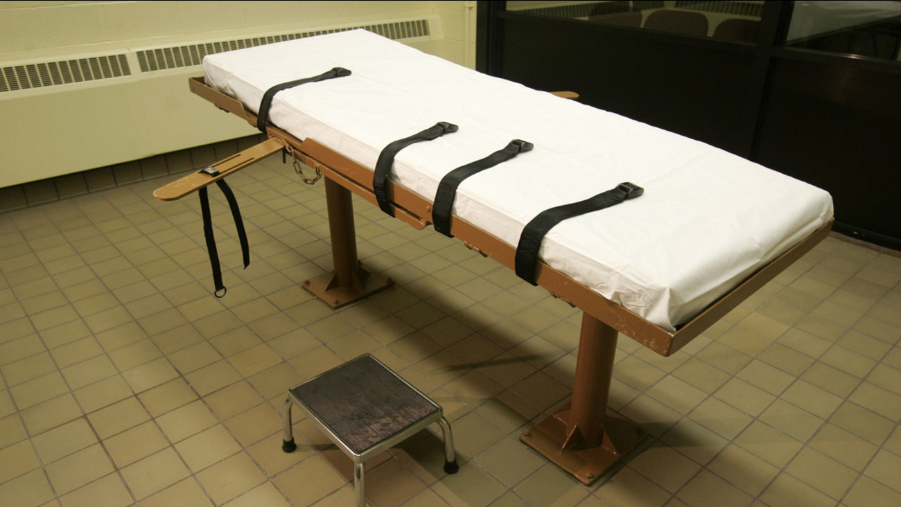 Death row execution bed