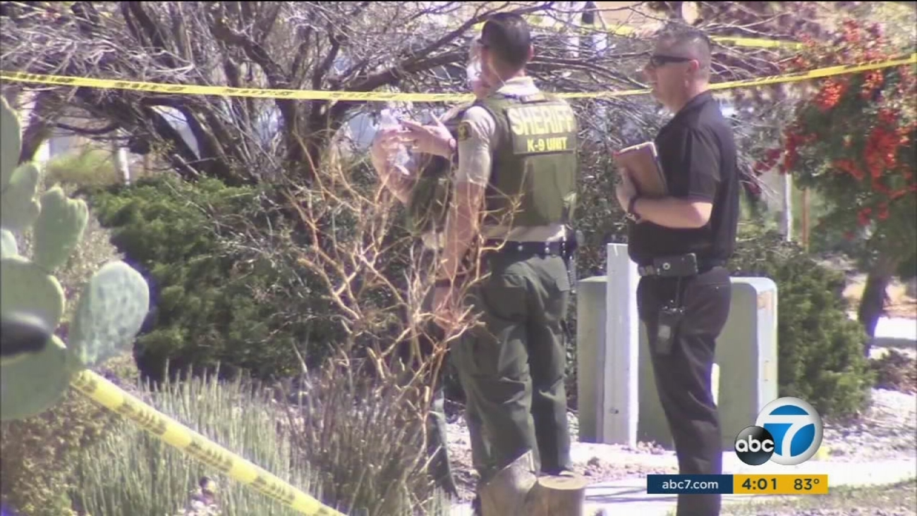 An Apple Valley homeowner, identified as an off-duty police officer, has shot and killed a robbery suspect.