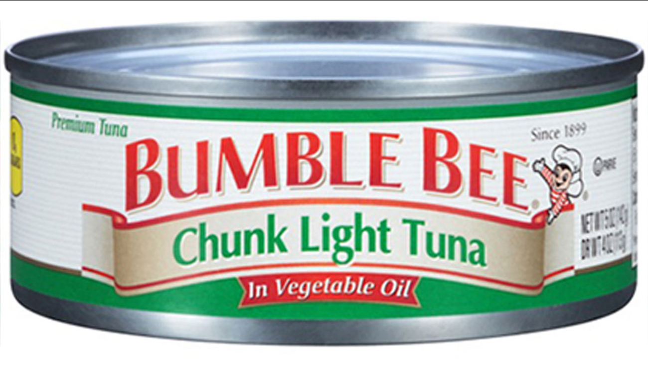 A type of Bumble Bee tuna that is part of a voluntary recall is seen in this photo from the U.S. Food and Drug Administration's website.