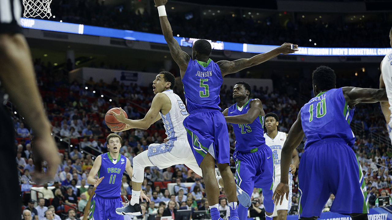 Marcus Paige and North Carolina drove past Florida Gulf Coast with a strong second-half effort Thursday.