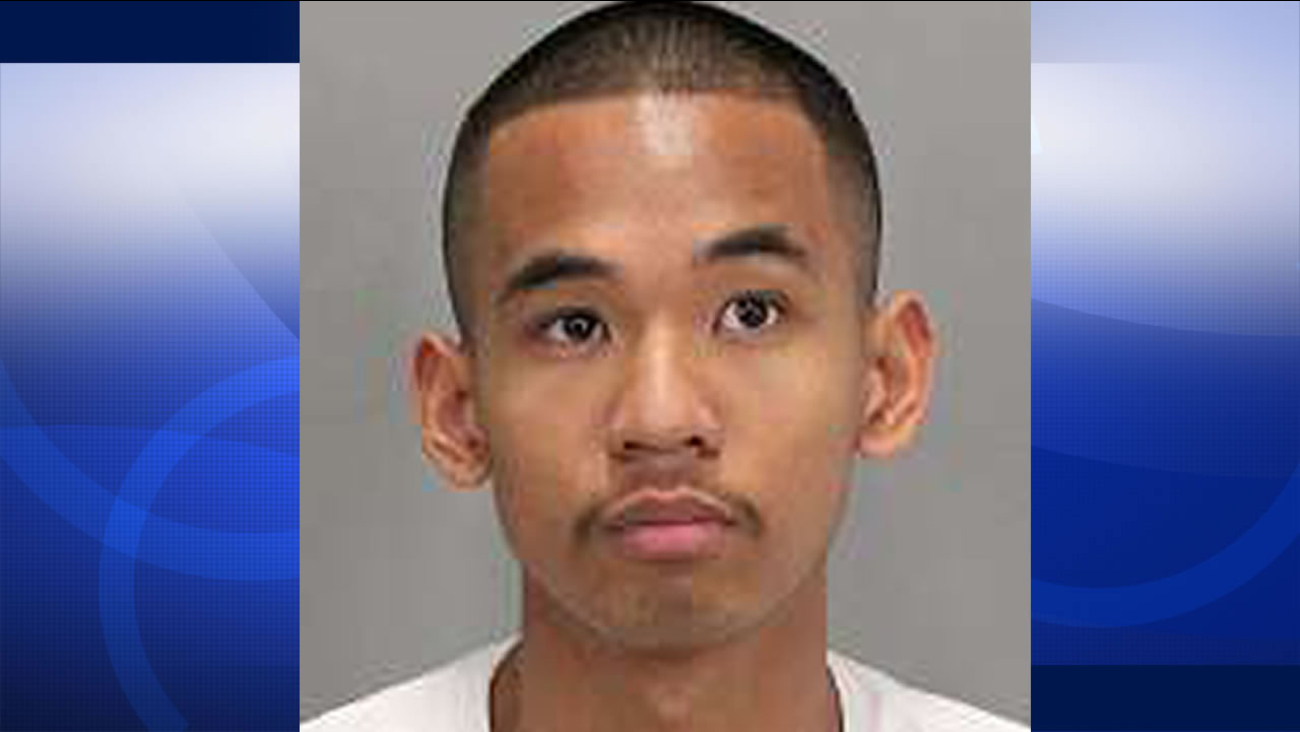 San Jose police have released this image of 21-year-old Enoch Garcia, who was arrested  March 15, 2016 on charges of having a sexual relationship with two students.
