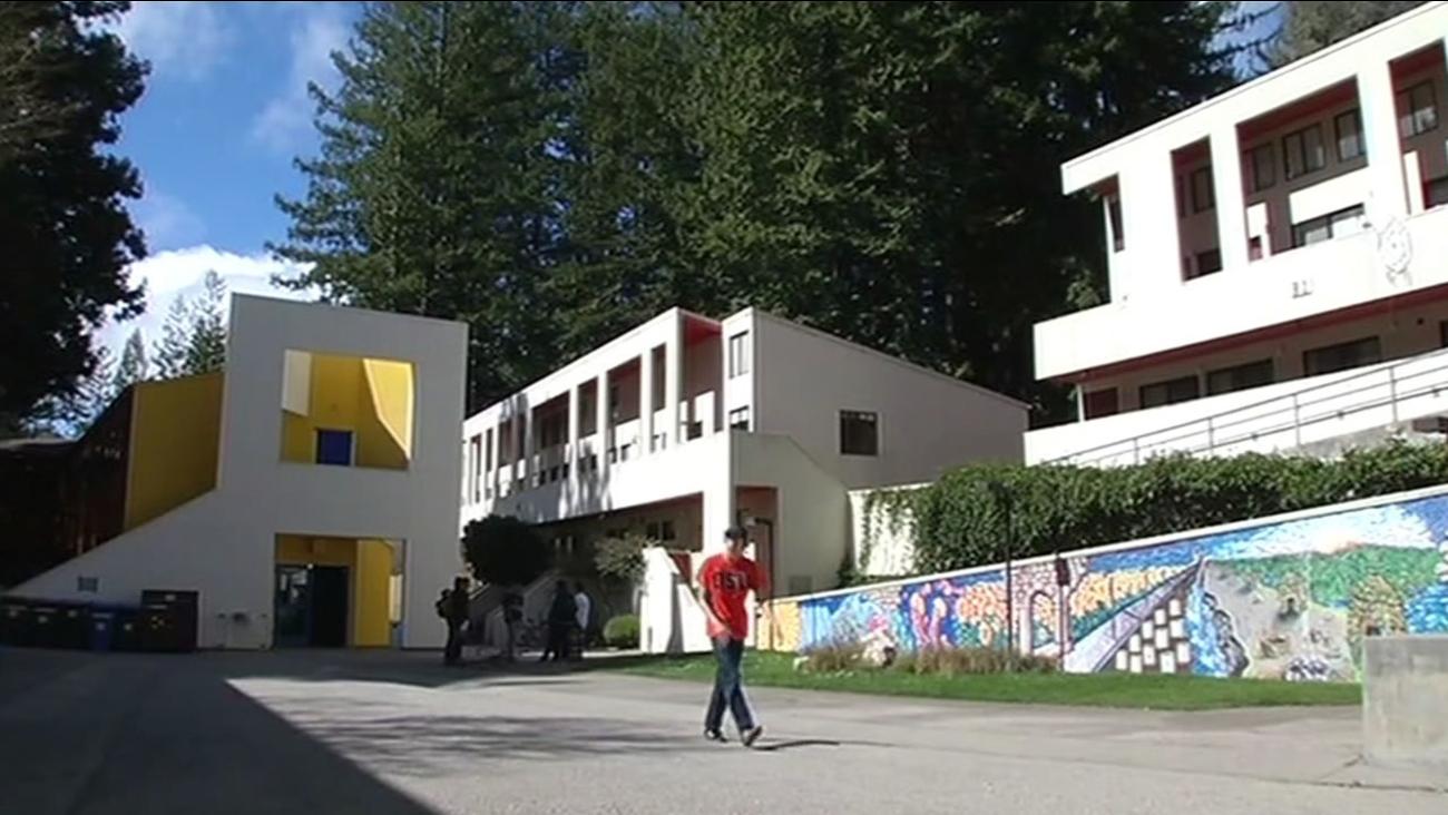 FILE -- University of California Santa Cruz campus