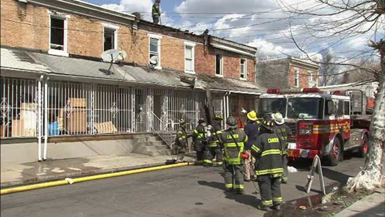 17 displaced when fire rips through Camden homes