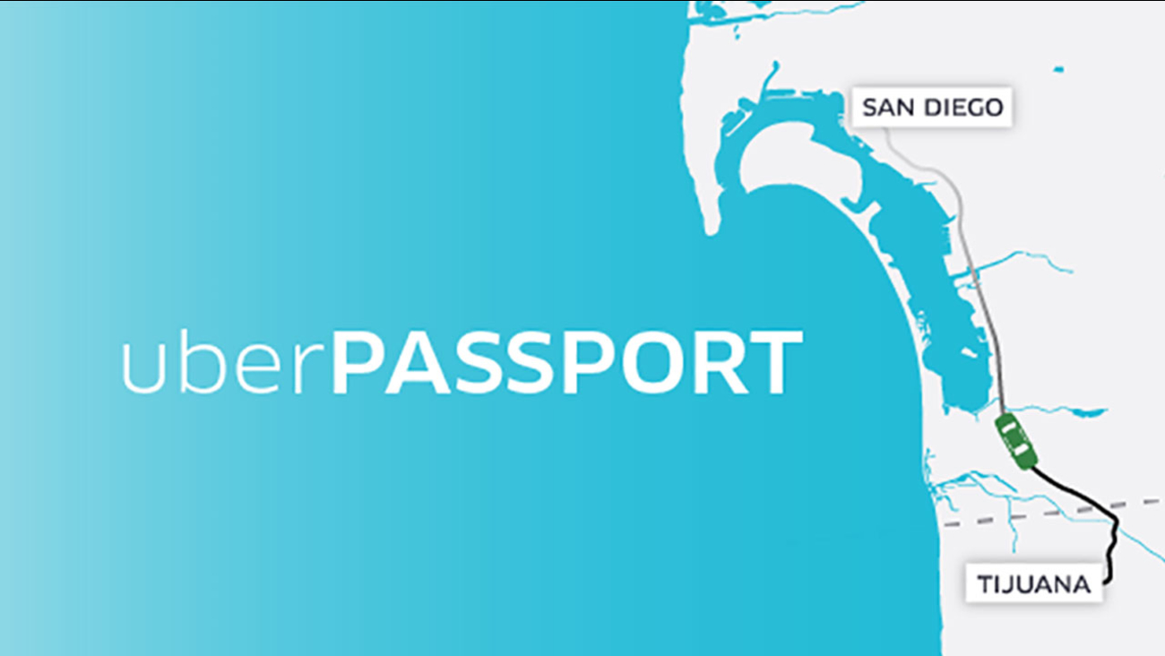 Uber has launched is first cross-border service which offers passengers one-way transportation from San Diego to Tijuana and surrounding areas.