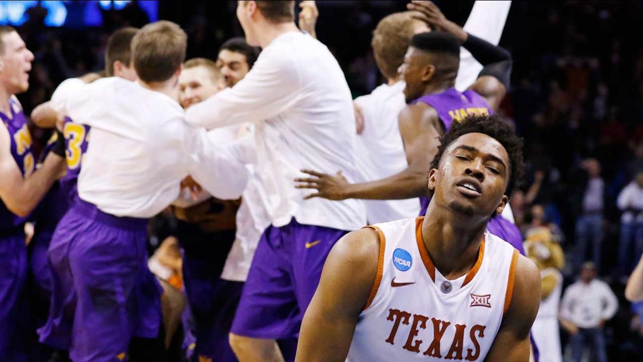 9cb14f482194 Horns bounced from NCAA tournament on half-court buzzer-beater ...