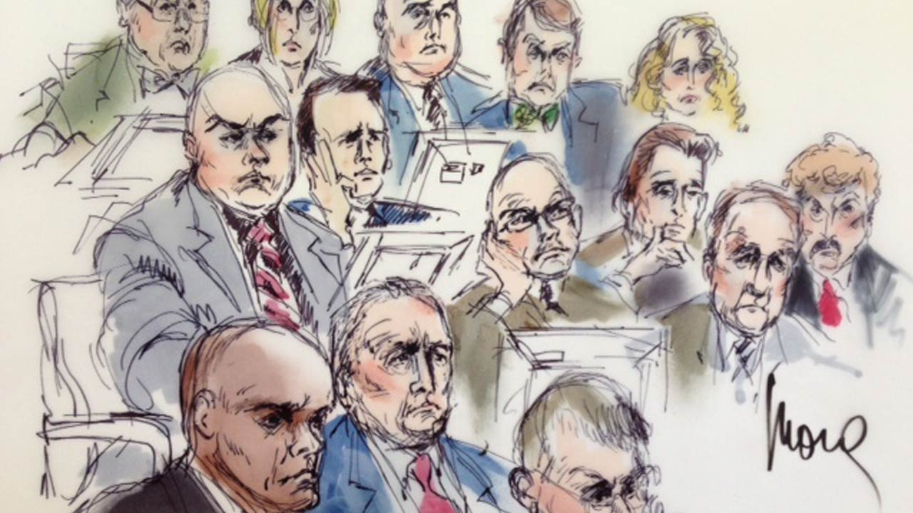 Closing arguments are set for Friday, June 20, 2014 in the trial of six current and former members of the Los Angeles County Sheriff's Department.