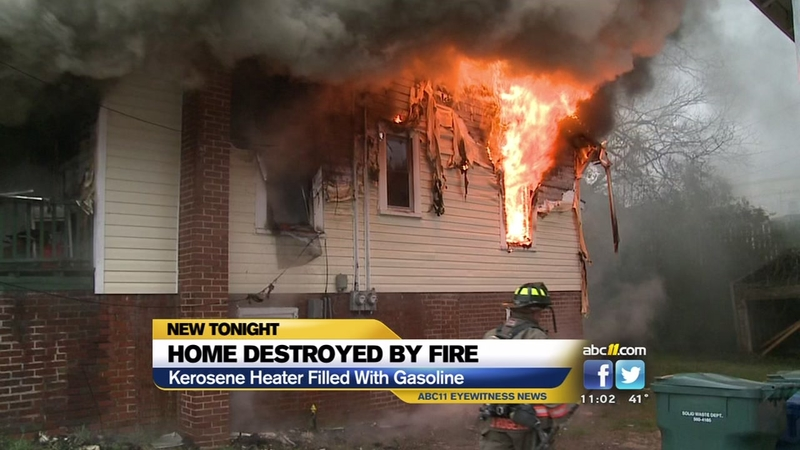 Durham home destroyed by fire