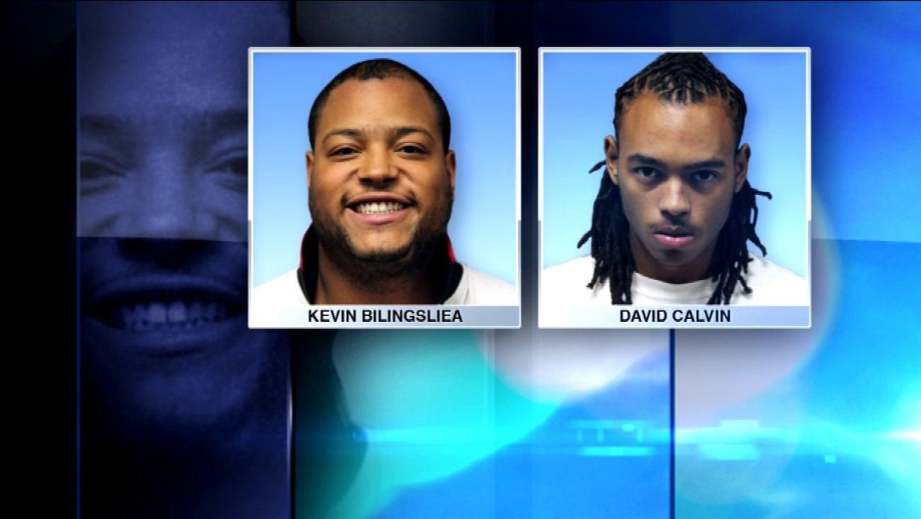 Kevin Billingslea, 27, and David Calvin, 20.