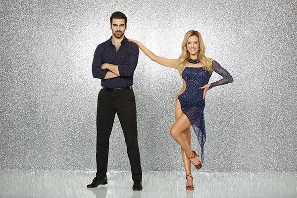 "<div class=""meta image-caption""><div class=""origin-logo origin-image none""><span>none</span></div><span class=""caption-text"">Nyle DiMarco, the most recent ''America's Next Top Model'' winner and DWTS' first fully deaf contestant, poses with partner Peta Murgatroyd. (ABC Television Network)</span></div>"