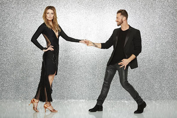 "<div class=""meta image-caption""><div class=""origin-logo origin-image none""><span>none</span></div><span class=""caption-text"">Mischa Barton, the actress known for playing Marissa Cooper in the 2000s show ''The O.C.,'' poses with partner Artem Chigvintsev. (ABC Television Network)</span></div>"