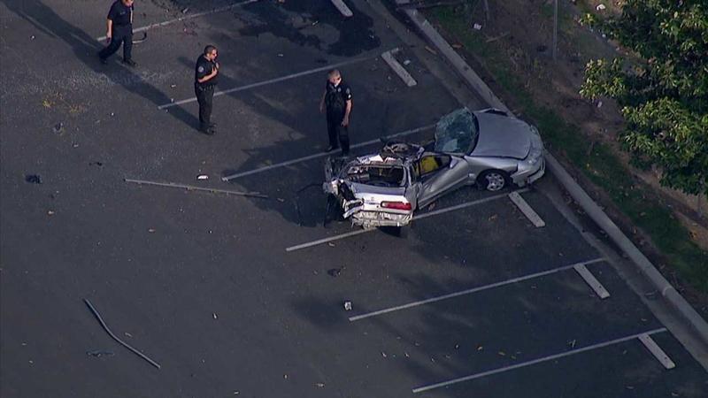 Driver killed in possible street-racing crash in San Bernardino