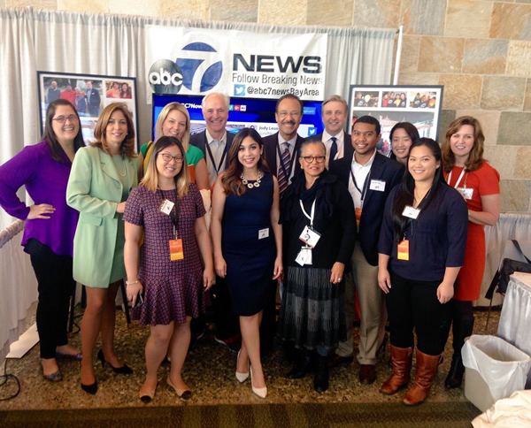 <div class='meta'><div class='origin-logo' data-origin='none'></div><span class='caption-text' data-credit='KGO-TV'>ABC7 News staff at the 27th Annual PBWC Conference at the Moscone Center West in San Francisco.</span></div>