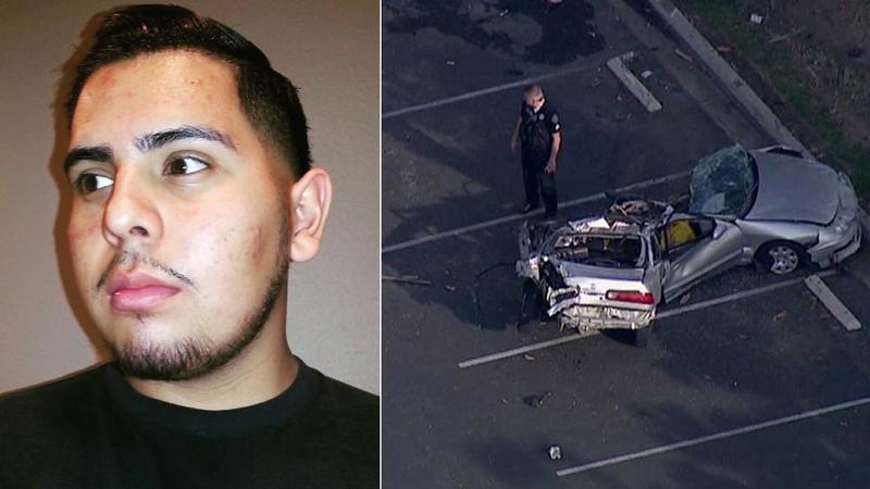 Driver killed in possible San Bernardino street-racing crash identified