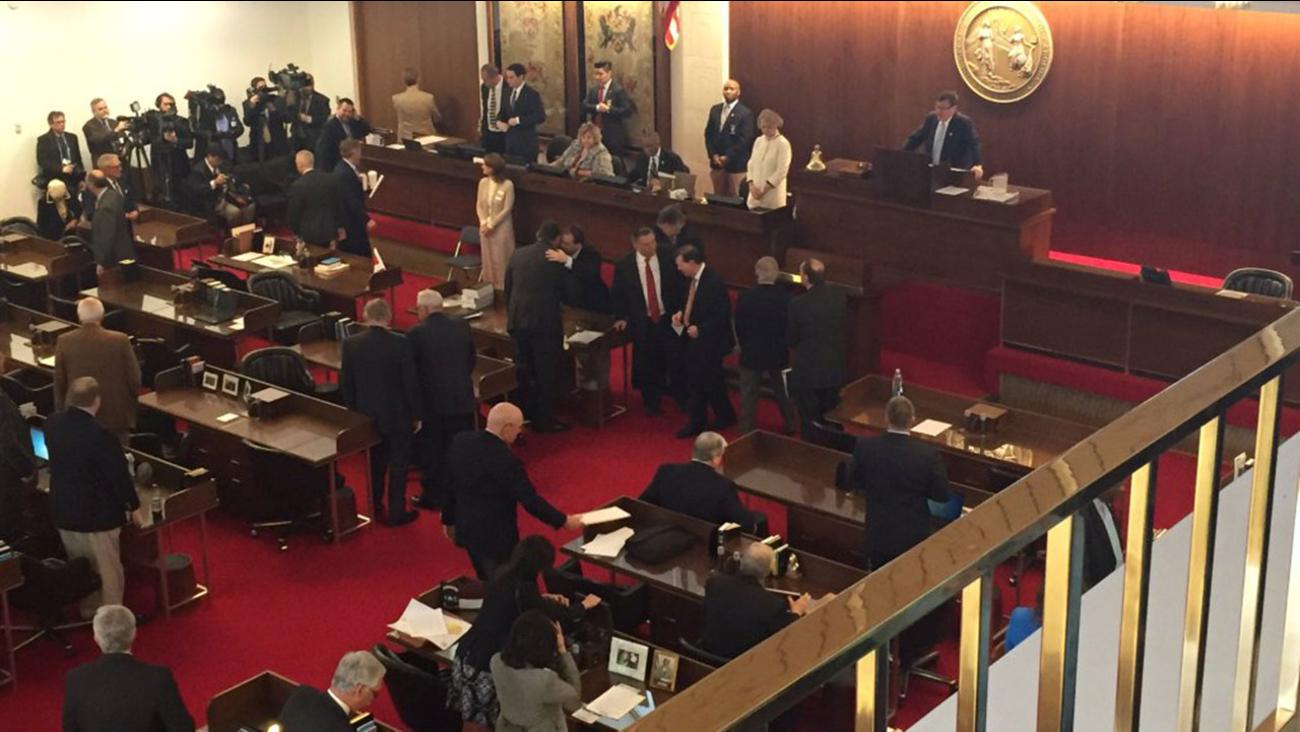 North Carolina legislature