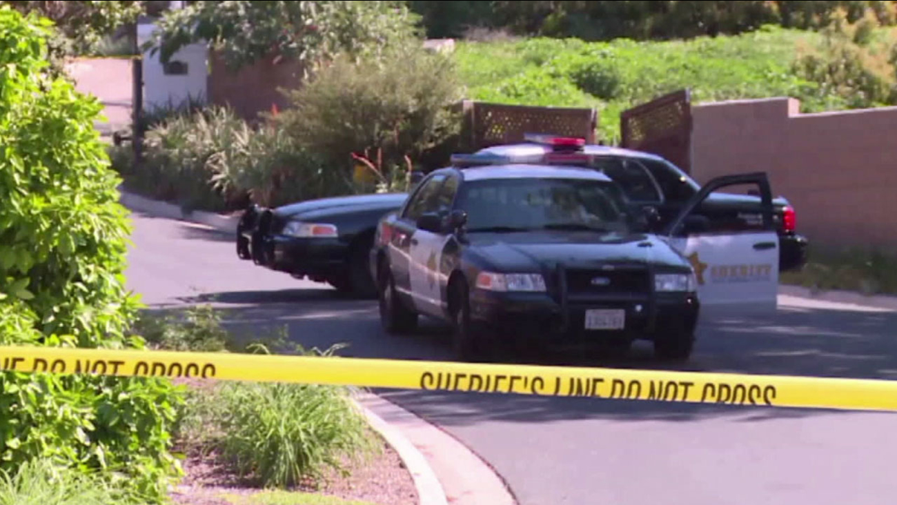 Sheriff's deputies found the bodies of three family members at a hillside home in the 4600 block of Greenhill Way in Santa Barbara County Thursday, March 24, 2016.