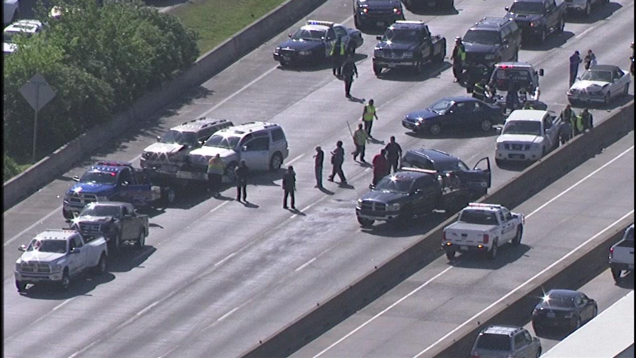 I-45 accident