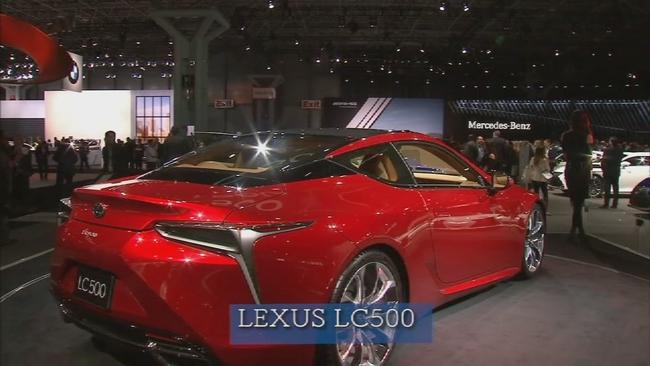 Super Car Video Tour Lexus LC Jaguar FType SVR Abcnycom - Lexus car show