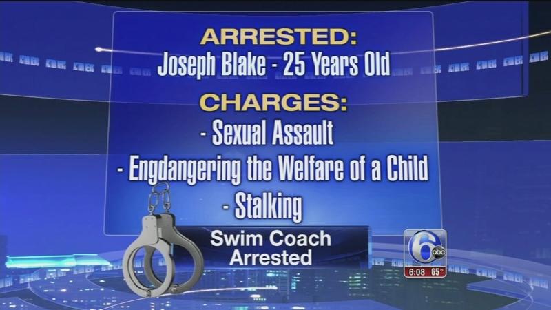 VIDEO: Swim coach arrest