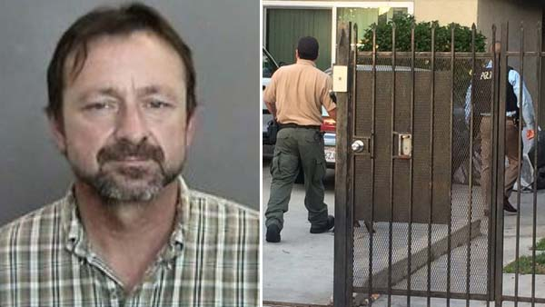 Donald Paul Busteed was arrested in connection with several pipe bomb incidents in Anaheim, according to police.