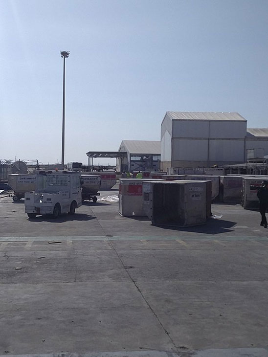 """<div class=""""meta image-caption""""><div class=""""origin-logo origin-image none""""><span>none</span></div><span class=""""caption-text"""">''Pax entering the terminal. To be screened hopefully!? @EGYPTAIR #hijacking'' (OllieMichael15/Twitter)</span></div>"""