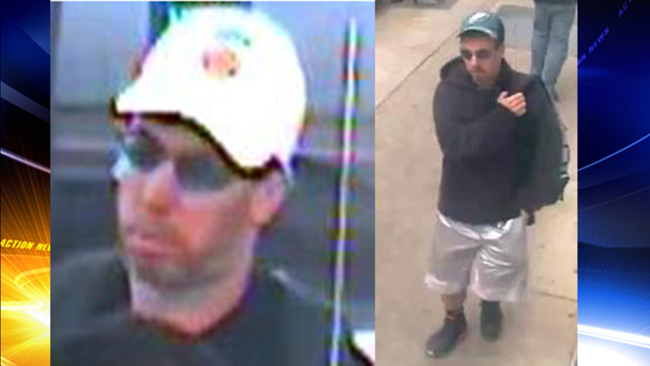 Suspect sought in 3 Center City bank robberies