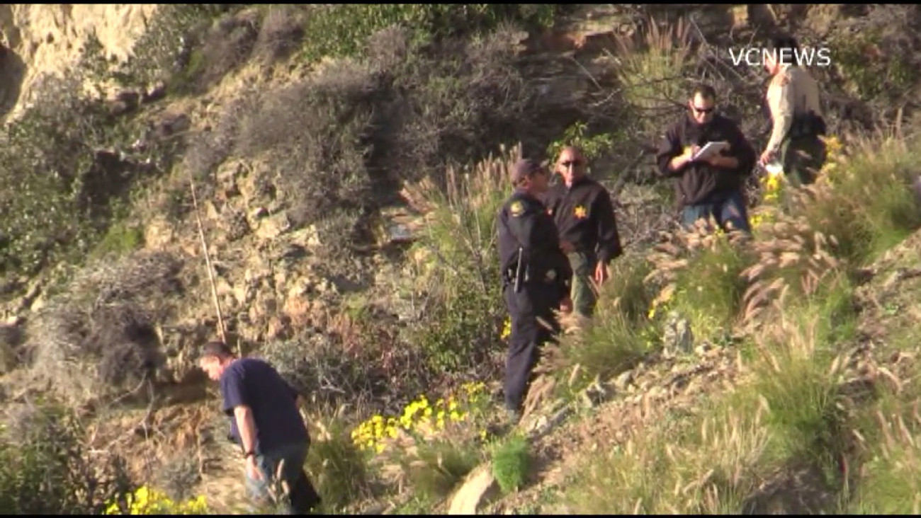 Officials found the body of a hiker on a hillside near Thornhill Broome Beach in Ventura County.