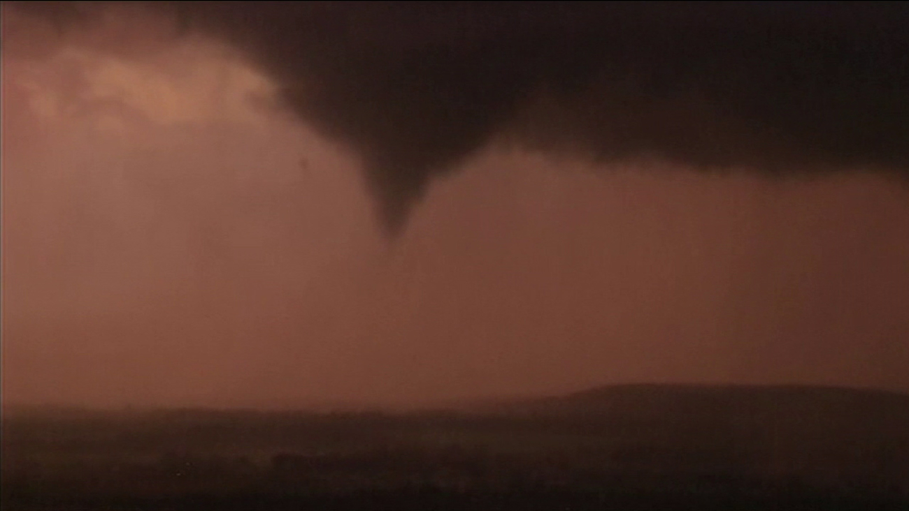 Severe storms ripped through Oklahoma, spawning multiple tornadoes on Wednesday, March 30, 2016.