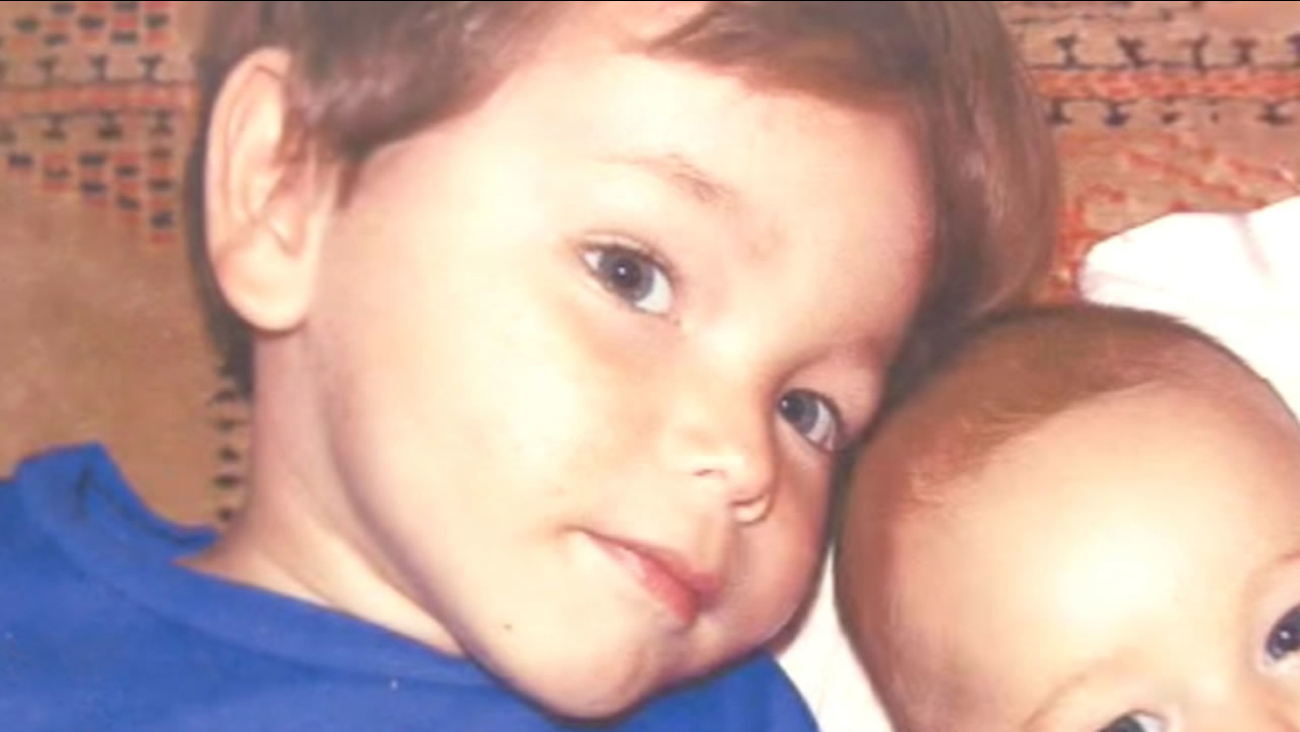 This image shows 6-year-old Caleb Sear who died during a dental procedure last year.