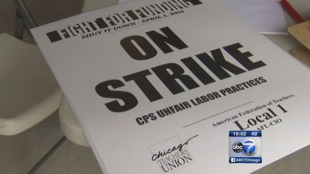 Chicago Teachers Strike: Chicago teachers rally, march through Loop