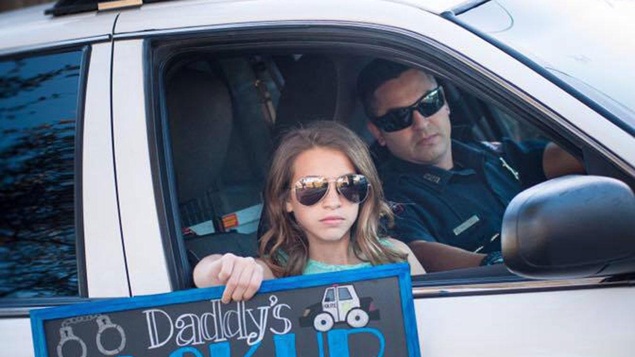 Pasadena police baby announcement