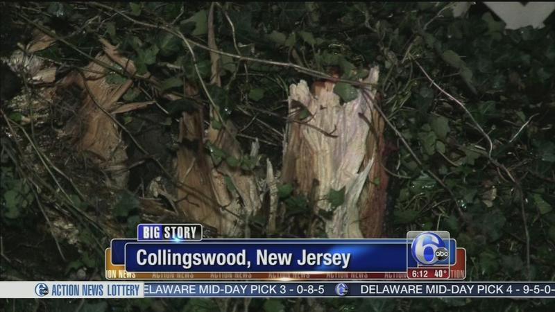 VIDEO: Storm damage around the area